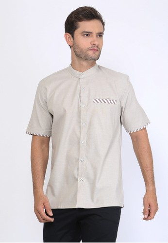 Allev beige Khalid Shirt - Cream EFC74AA1B9CD21GS_1