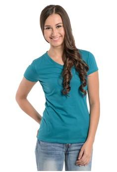 Newyork Army Ladies V-neck Slim fit T-shirt