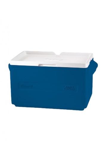 Coleman blue 48 Can Portable Party Stacker Cooler 66586HLBA98985GS_1