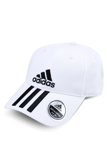 b71e27ad2c2d1 adidas white adidas 6p 3s cap cotto ADACAAC0D998C3GS 1