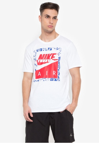 Nike white and red Men's Nike Sportswear T-Shirt NI126AA0STWYMY_1