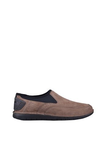 Hush Puppies black and brown Hush Puppies ADEPT BOLT In Dark Maple F2657SHC30ADC3GS_1