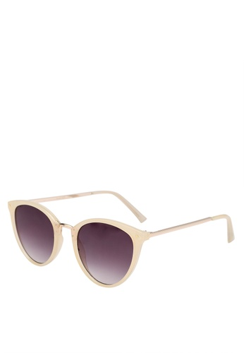 b249595b110 Shop MANGO Contrasting Sunglasses Online on ZALORA Philippines