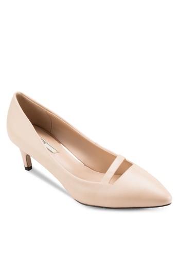 尖頭細跟低跟鞋, 女鞋, 厚底高esprit童裝門市跟鞋