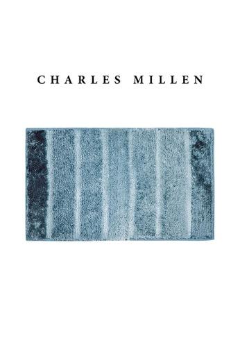 Charles Millen SET OF 2 Charles Millen Cosmos TR1423Y  Microfibre Anti slip  Bath Mat /   45x75cm/ 608g 5FAF1HL4AB4EE3GS_1