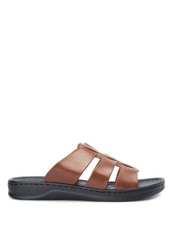 Mendrez brown Joem Sandals ME992SH0JARJPH_1