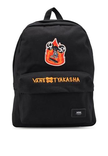 VANS black Tyaksaha Backpack VA142AC0SWQGMY_1