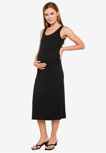 Mama.licious black Maternity Lea Tank Dress 590A6AAE1315F9GS_1