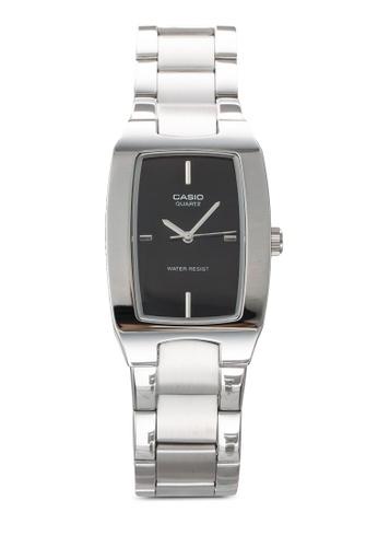 Casio silver Casio Enticer Analog Black Dial Men's Watch CA843AC94JPPMY_1