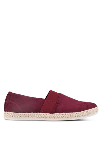 Bata red Slip On Espadrilles 45282SH3DC4200GS_1