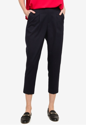 GLOBAL WORK blue Casual Tapered Pants 1EED0AAC94234FGS_1