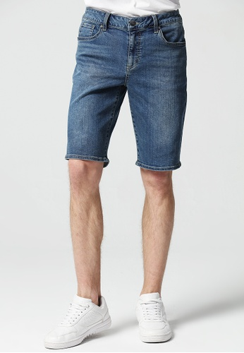 GUESS blue Guess Men's Denim Shorts 89838AAD8E1B60GS_1