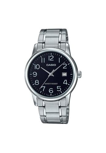 Casio silver CASIO GENERAL MTP-V002D-1BUDF UNISEX'S WATCH F5467AC35FA1E1GS_1