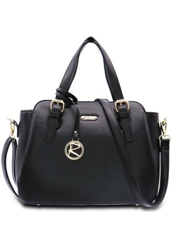 RUCINI black Rucini Rachelle Satchel Handbag CD0C0ACBC35DCCGS_1