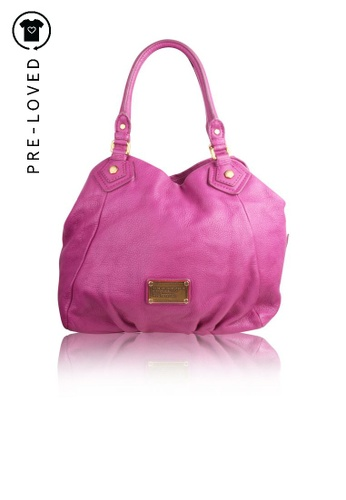 Marc By Marc Jacobs pink Pre-Loved marc by marc jacobs Fuchsia Tote Bag 06BDFAC9A94D19GS_1