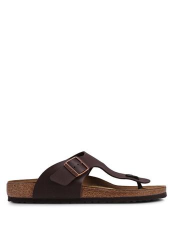 Birkenstock brown Ramses BF Sandals 49590SH594BD65GS_1