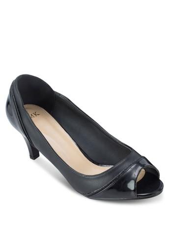 雙色露趾淑esprit hk分店女鞋, 女鞋, 魚口鞋