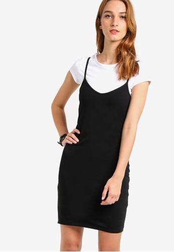 90年代短袖TEE 吊帶裙, 服飾esprit香港分店, 洋裝