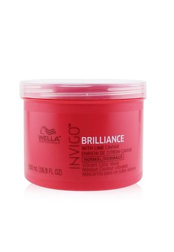 Wella WELLA - Invigo Brilliance Vibrant Color Mask - # Normal 500ml/16.9oz D8BA5BE0B12D2EGS_1