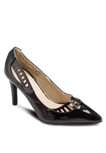 Ruth 鏤空尖頭高zalora 衣服評價跟鞋, 女鞋, 鞋