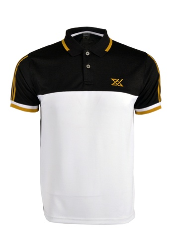 Cheetah black CTH unlimited Short Sleeve Polo Shirts - CU-7956 0B85AAA107BB52GS_1