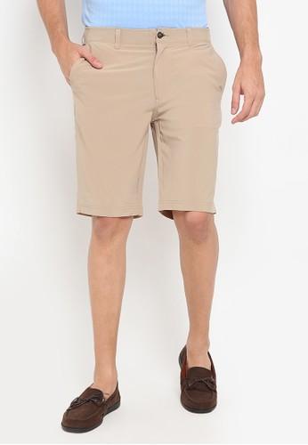 Jack Nicklaus beige Quebec Premium Shorts 16668AA74EF26BGS_1