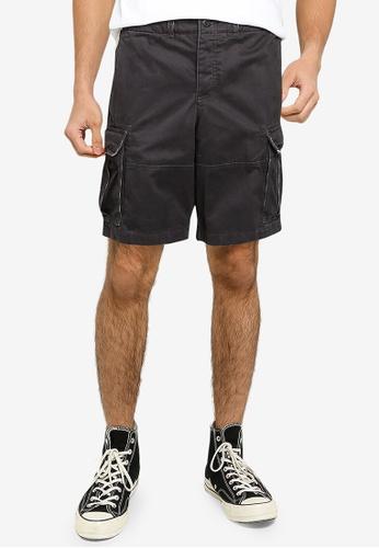 Abercrombie & Fitch grey Cargo Shorts 58CDBAACFDECD2GS_1