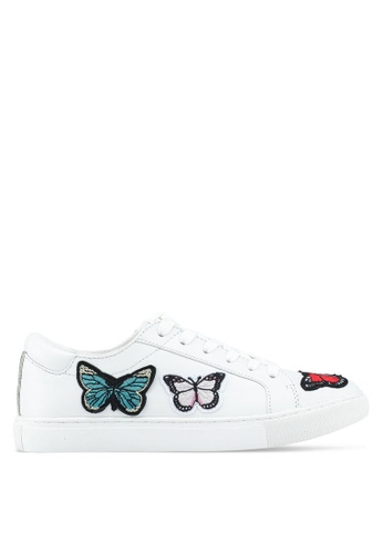 Kenneth Cole 白色 Kam Butterfly Sneakers 28249SHC8126DDGS_1