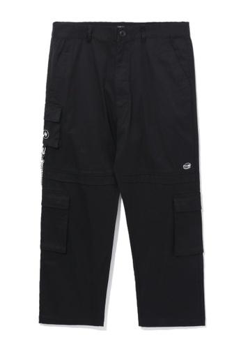 Fivecm black Loose cargo pants 70B4BAA5815869GS_1