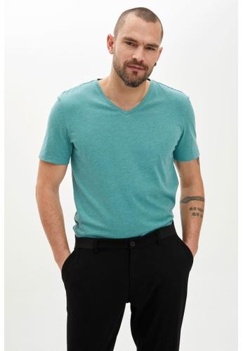 DeFacto green Man T-Shirt CF3B2AAEEAA6F2GS_1