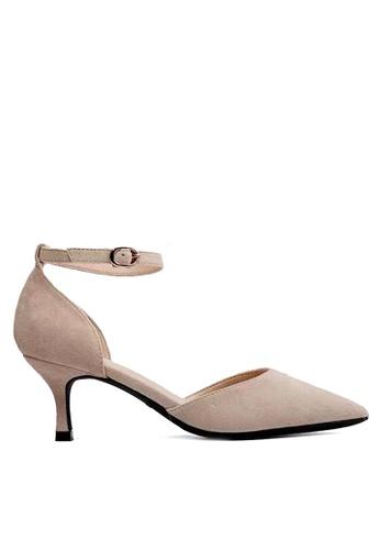 Twenty Eight Shoes beige Strap Mid Heel 165-1 68F54SH402F252GS_1