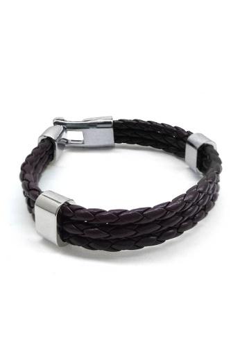 Her Jewellery black Aser Bracelet 05F3EACF7B151DGS_1