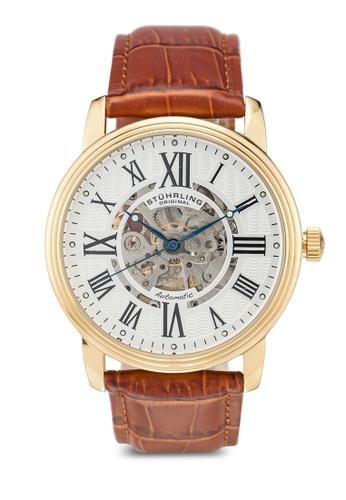 Stuhrling Original brown Stuhrling Watch Set 1077.3335K2.CH BA1DBACBA934DFGS_1