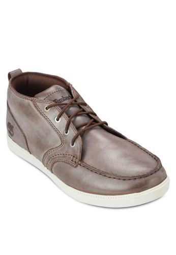 Fulk 皮革繫帶踝esprit香港門市靴, 鞋, 鞋