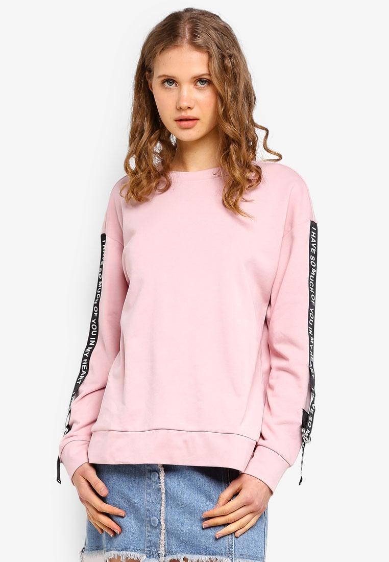 Sleeve Pink ESPRIT Long Long ESPRIT Sleeve Sweatshirt Sweatshirt gBqTnX