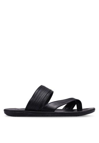 Bata black Slide On Sandals E86D5SHFE375A6GS_1