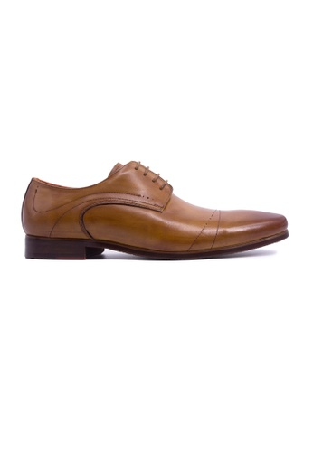 Rad Russel brown Rad Russel Lace Up Derby-Tan ABA85SH320B247GS_1