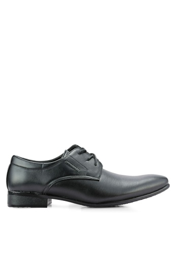 Rocklander black Lace Up Dress Shoes RO978SH0RH9UMY_1