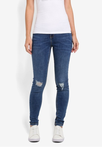 Superdry blue Sophia Skinny Jeans DC0A8AA5CF4363GS_1