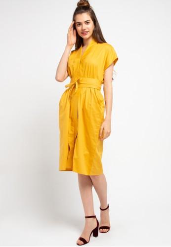 Ans.Ein yellow Nyonya Dress 91117AA747AFE3GS_1
