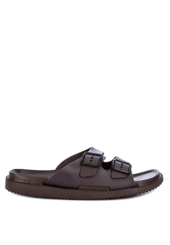 H2Ocean brown Aengus Sandals Slides 6409DSHA223480GS_1