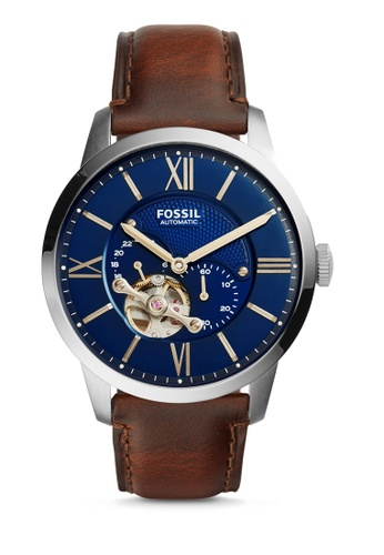 Fossil brown Townsman Analog Watch ME3110 943F8AC4147803GS_1
