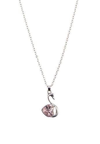 寶石天鵝吊飾項鍊, 飾品配件, 飾esprit台灣outlet品配件