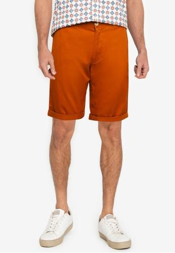 Ben Sherman brown Signature Chino Shorts 9F52AAA2191770GS_1