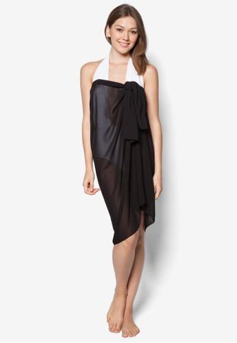 Luesprit招聘ngo 素色沙灘巾, 服飾, 服飾