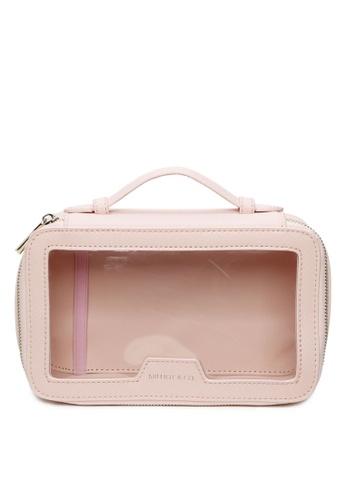 Milliot & Co. 粉紅色 Anna Pouch Holder D7A10ACC8F0DCFGS_1