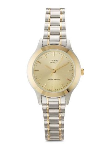 LTP-1128G-9A 雙色指針鍊錶、 錶類、 飾品配件CasioLTP-1128G-9A雙色指針鍊錶最新折價