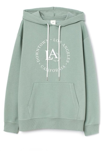 H&M green Hooded top 82123AA9CEF502GS_1