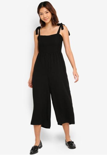 Cotton On black Woven Alexa Strappy Jumpsuit 8BD08AA6676186GS_1
