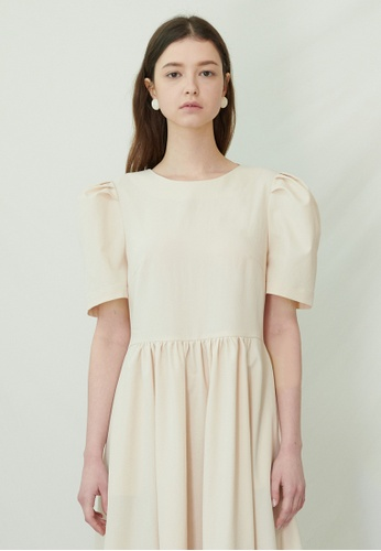 TAV [Korean Designer Brand] Victoria Dress - Ivory 65B84AA41BFA11GS_1